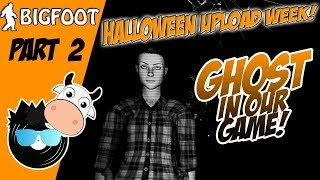 GHOST in our GAME! HALLOWEEN SPECIAL! - Finding Bigfoot (Funny Halloween Gaming Moments)