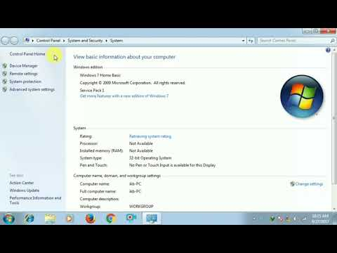 Install Android USB Driver On Windows 7