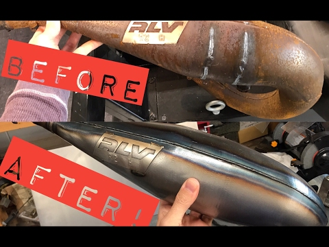 Restore Your Two Stroke Pipe Works Look
