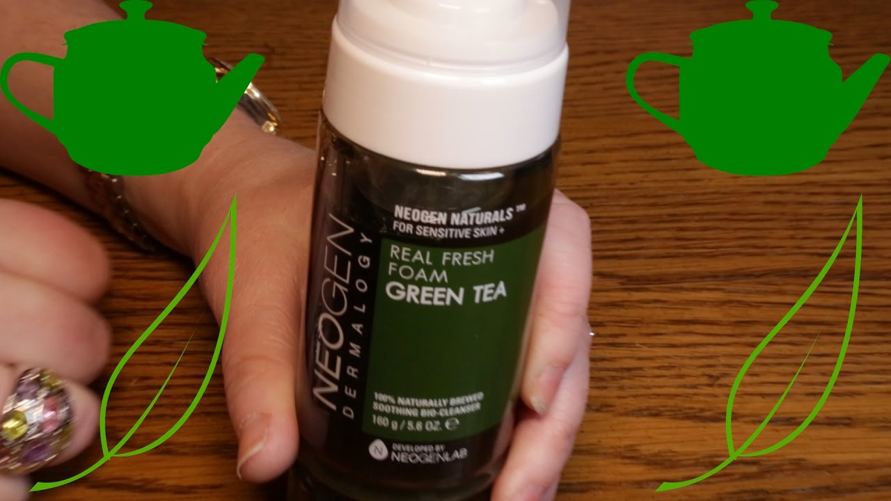 Green Tea Real Fresh Foam Cleanser by neogen dermalogy #22
