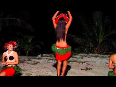 Te Aito Fire Knife Dance Group at Tamanu Beach Luxury Resort, Aitutaki