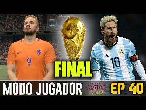 ¡¡FINAL MUNDIAL DE QATAR 2022!! ÉPICO | FIFA 17 Modo Carrera ''Jugador''' Holanda - EP 40