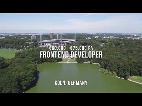 HIRING: Frontend Developer in Cologne | Ref. 29750