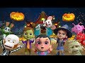 Ten Little Monsters | Halloween Songs for Children | Kindergarten Cartoons by Little Treehouse