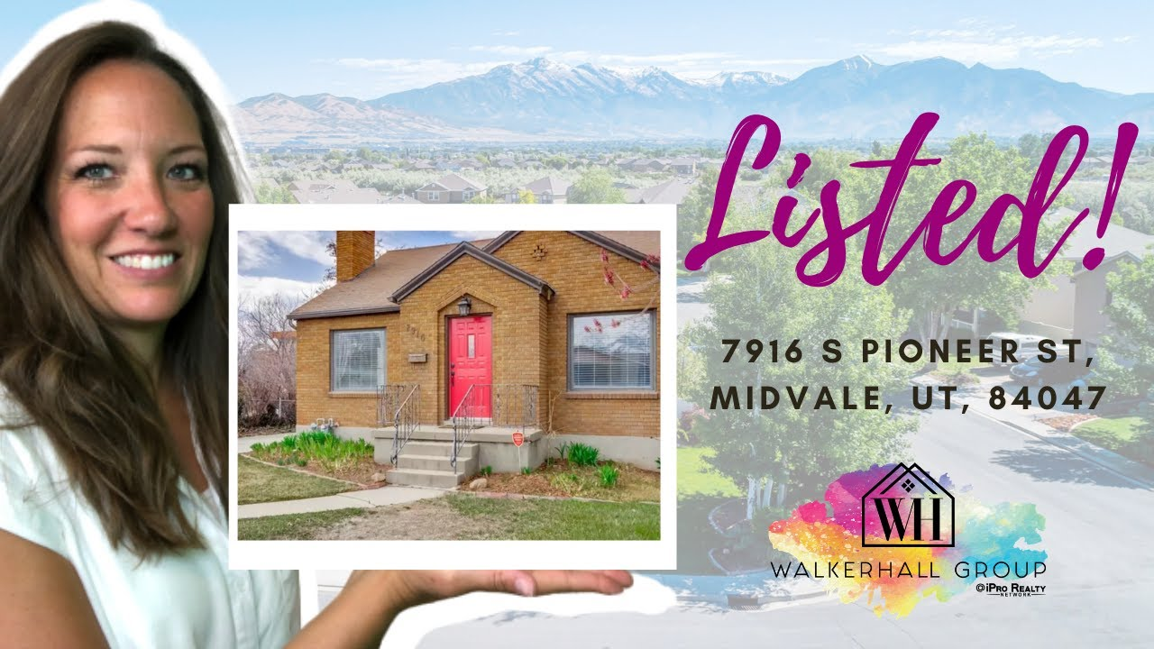 New Home For Sale in Midvale Utah! 7916 S Pioneer St, Midvale, UT 84047