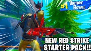 The NEW RED STRIKE Skin in Fortnite..