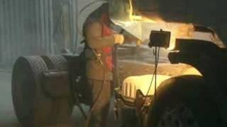 Piaskowanie Scania ciągnik siodłowy ADP SERWIS Śląsk