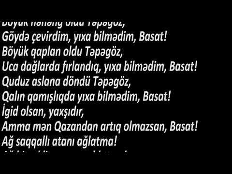 Ədəbiyyat 6 KİTABİ-DƏDƏ QORQUD