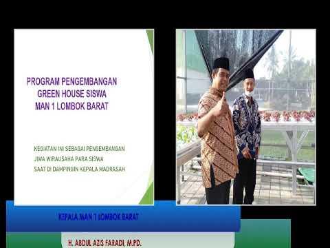 Pengembangan Wierausaha Tanaman Hydroponik MAN 1 Lombok Barat