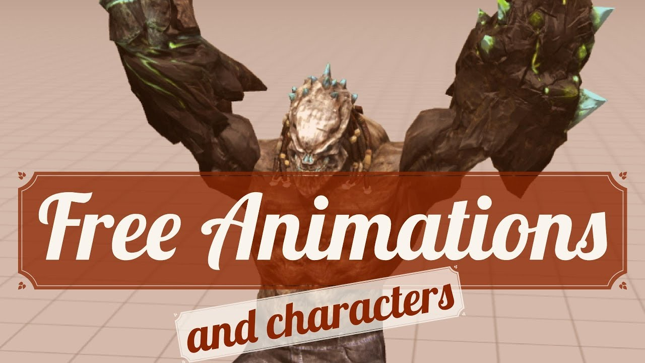 My favorite place for free animations & characters