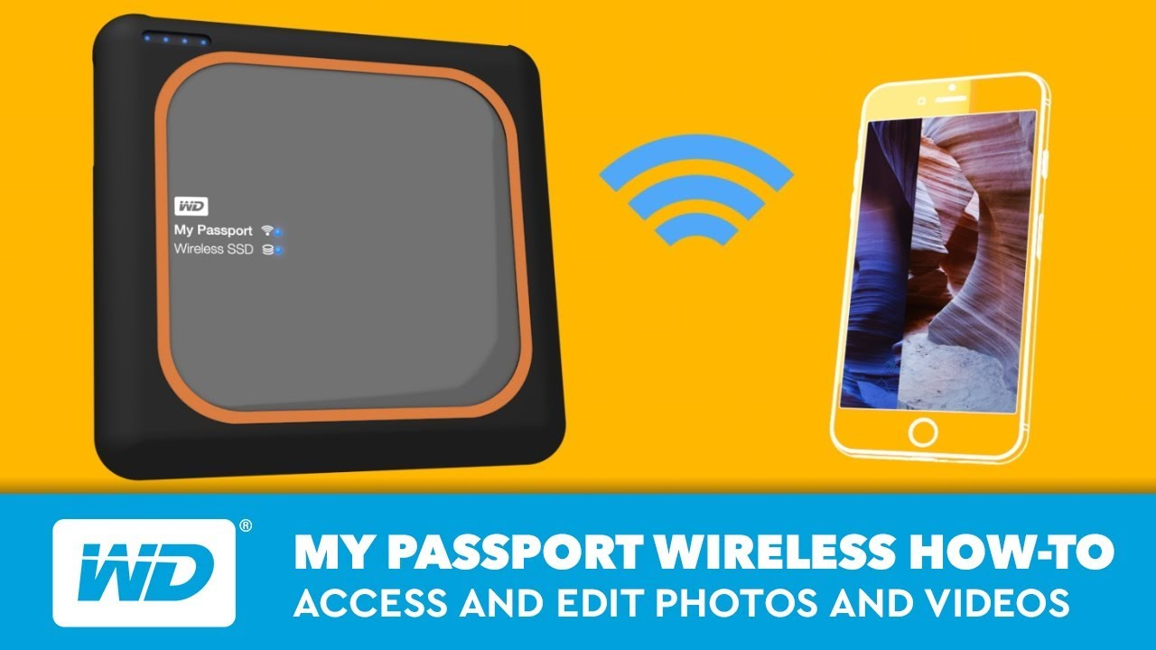 My Passport Wireless | How to Access and Edit Photos and Videos