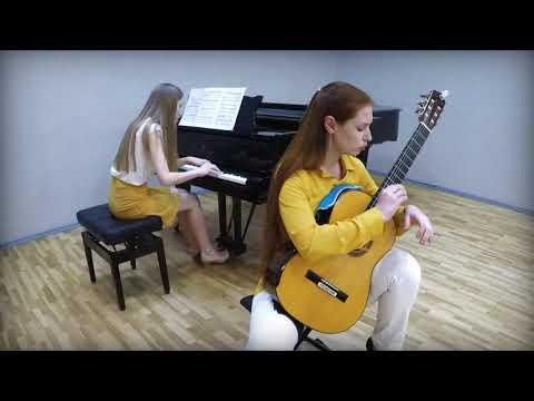 H. Villa-Lobos Guitar Concerto 1 Mov. - Eugenia Shkarupa