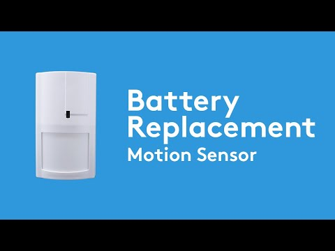 How To Change The Battery In Your Dsc Impassa Motion Sensor Adt Youtube