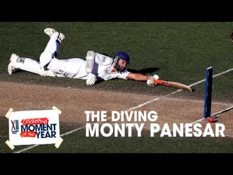 TwelfthMan Cricketing Moment of the Year - The Diving Monty Panesar