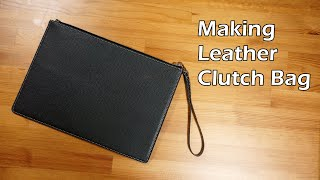 56 [Leather Craft] Making Leat…