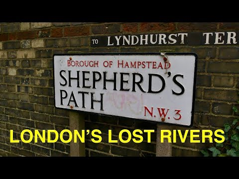 Walking London's Lost Rivers - The Tyburn (4K)