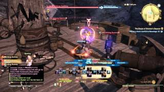 FINAL FANTASY XIV: A Realm Reborn Black Mage BLM POV PVP Rotation Most Effective Single Target.