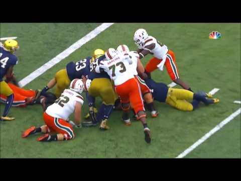 2016 Notre Dame vs Miami Condensed Game