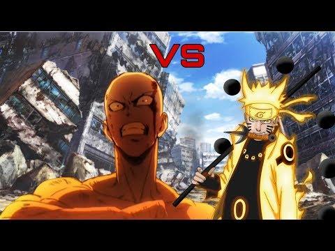 Наруто против Сайтамы!