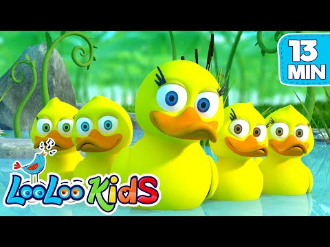 Five Little Ducks  THE BEST Songs for Children  LooLoo Kids