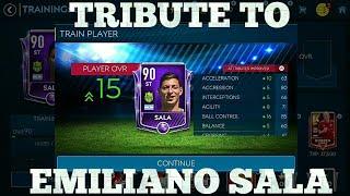 EMILIANO SALA FIFA Mobile Tribute - Master Card Upgrade