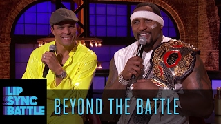 Beyond the Battle with Ray Lewis & Tony Gonzalez | Lip Sync Battle
