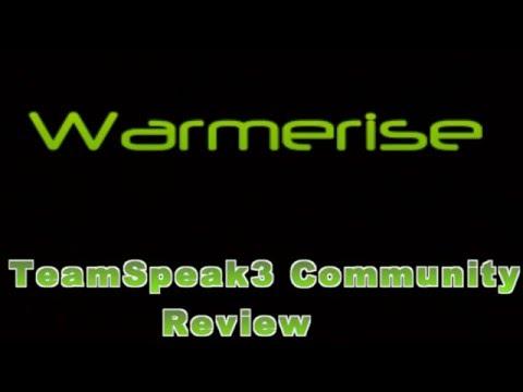 [Archived] Warmerise Teamspeak3 Server Community Review