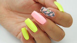 Summer nails :D /Colours by Molly #summernails #pastelnails #neonnails