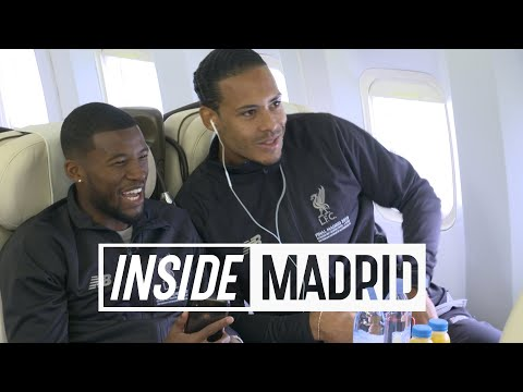Inside Madrid: Final Champions League preparations | Liverpool arrive and train in Madrid