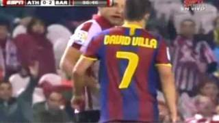 Rivaldo | Eto'o | Villa | Henry | Deco | Valdes & Toure Vs Athletic Bilbao ( Barcelona )