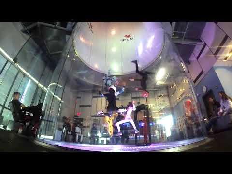 Sydney Kennett -- Tunnel Life (indoor skydiving child talent)