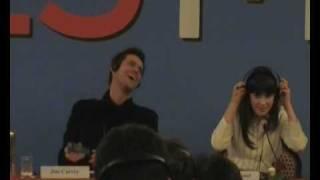 Conferenza Stampa Yes Man Con Jim Carrey, Zooey Deschanel E Il Regista Peyton Reed/Part1