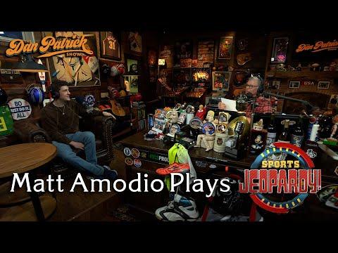 Matt Amodio Plays Sports Jeopardy!   10/27/21