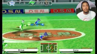 DISNEY SPORTS SOCCER   O JOGO DE FUTEBOL DO MICKEY DA KONAMI Gameplay GameCube