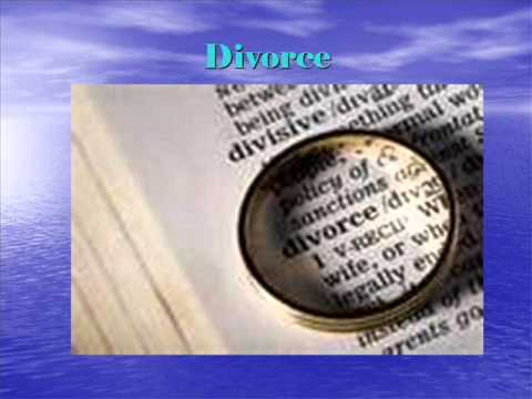 Bible Verses Concerning Love, Marriage and Divorce