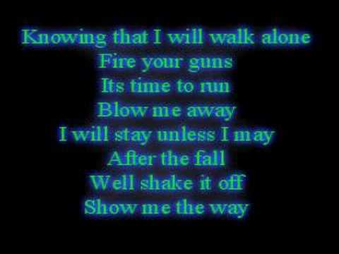 breaking benjamin-Blow me away lyrics