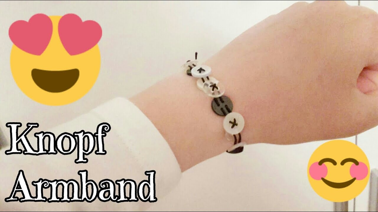 armband aus kn pfen diy anleitung creativecats by l youtube. Black Bedroom Furniture Sets. Home Design Ideas