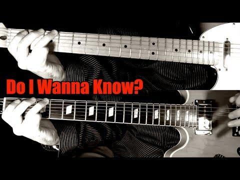 Do I Wanna Know? - Arctic Monkeys ( Guitar Tab Tutorial & Cover )