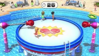 Wii Party U Minigame Showcase - Knock Out (1 vs Rivals)