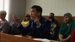 Спор депутата и заместителя прокурора: диалог Олега Какоулина и Игоря Рима.