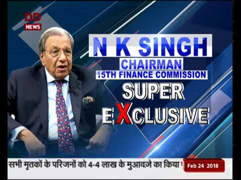 Chairman of the 15th Finance Commission NK Singh speaks exclusively to DD News