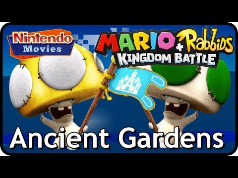 Mario + Rabbids Kingdom Battle - World 1 Ancient Gardens - All Challenges (Including DLC Challenges)