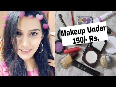 beginners makeup kit under 150/ rs nykaa sale super