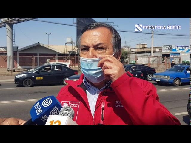 Alfredo Araya, SEREMI de Transportes, evaluó el primer día de restricción vehicular en Arica