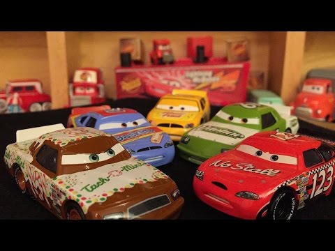 Mattel Disney Cars Collection Piston Cup Racers Youtube