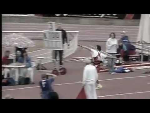 Jan Zelezny 98.48m (WR) 1996