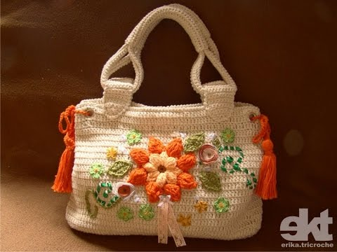 Crochet Bag Youtube : Crochet Bag Simplicity Patterns 8 - YouTube