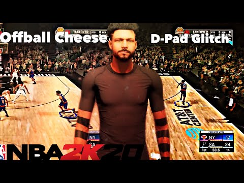 NEW TELEPORT GLITCH - OVERPOWERED OFFBALL CHEESE NBA2K20