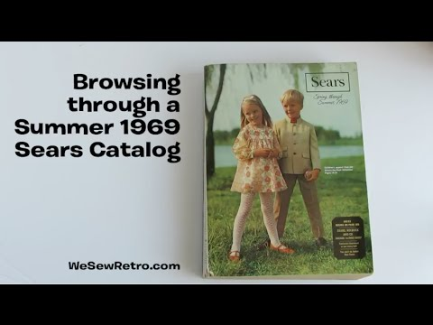 Browsing A Summer 1969 Sears Catalog