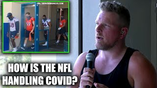 Pat McAfee Talks The How NFL Is Handling COVID